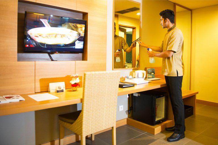 Hotel Room Service Staff (Male)