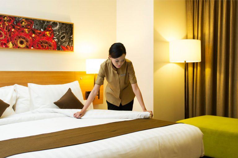 Hotel Room Service Staff (Female)