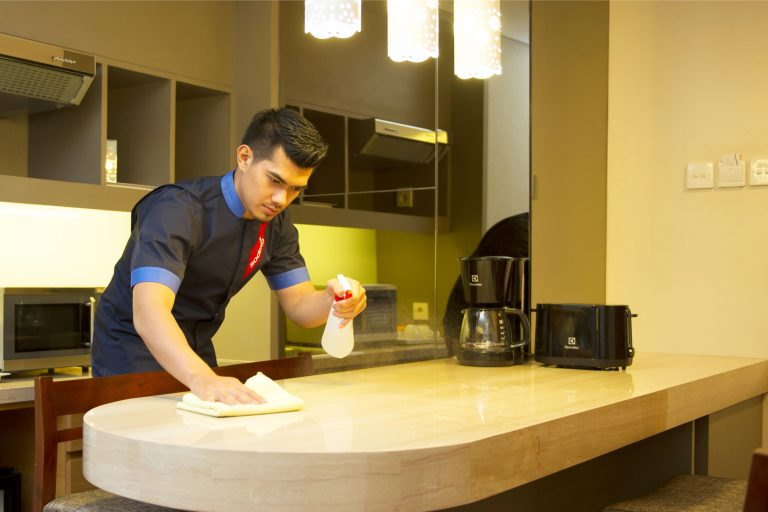 Hotel Cleaner (Male)