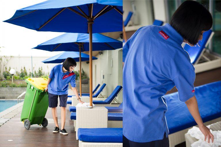 Hotel Cleaner (Female)