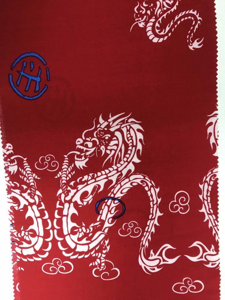 "100% Rayon 58"" (Red)"