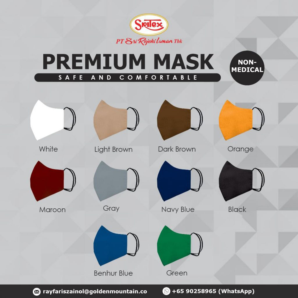 GM Mask Premium Colours
